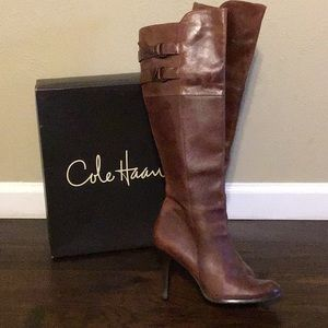 Cole Haan Tall Boots with Nike Air
